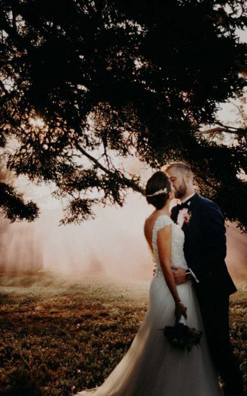 Mariage chic et élégant au château de Mauriac dans le Tarn
