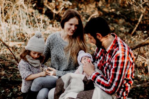 Photos de famille / Nouveau-Ne