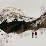 Couple à la montagne